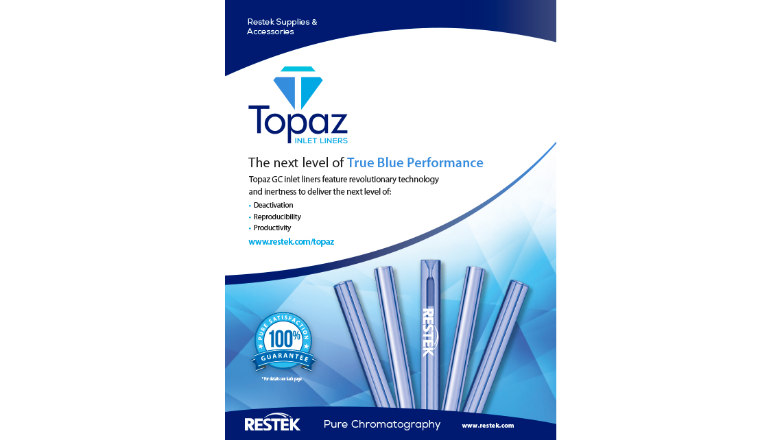 Topaz GC inlet liners